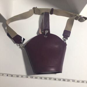 NWT French Connection Medina bucket crossbody bag